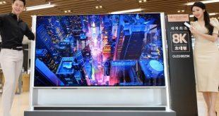 Az LG piacra dobja a világ első 8K OLED televízióját
